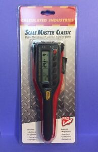 Calculated Industries Scale Master Classic new Free Shipping