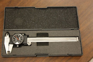 Fowler 6 Dial Calipers In Hard Case Stainless