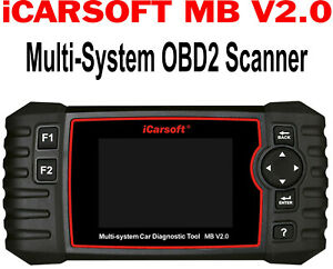 Mercedes Benz Icarsoft Mb Ii New Version I980 Srs Abs Diagnostic Tool Scanner