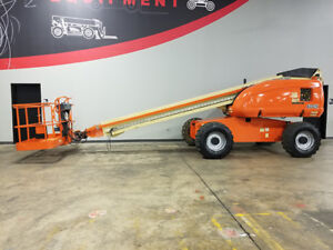 2007 Jlg 600s 500lb Pneumatic Telescopic Boom Lift Diesel Aerial Lift Side Entry