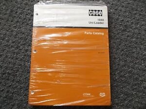 Case 1840 Uni loader Skid Steer Factory Parts Catalog Manual Bur 8 5372