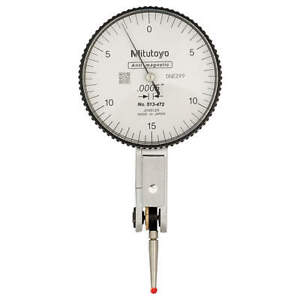 Mitutoyo Dial Test Indicator hori 0 To 0 030 In 513 472 10e