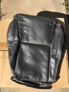1999 2007 Saab 9 5 95 Black Aero Leather Driver Or Passenger Seat Bottom Cover