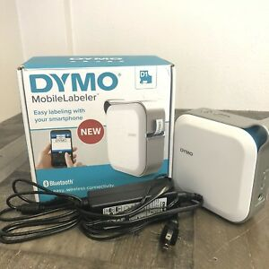 Dymo Mobile Labeler Bluetooth Smart Print Rechargeable Battery Works W dymo App