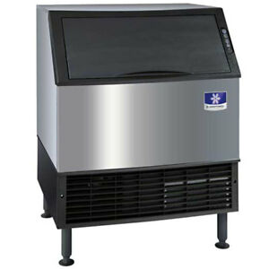 30 Air Cooled Countertop Half Dice Ice Machine With 119 Lb Bin 115v 295 Lb