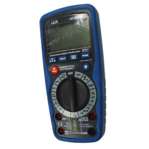 Automotive At 9995 Professional Car Digital Multimeter With Rs232 Interface