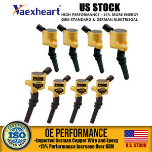 Us Stock Coil Pack 8 Ignition Coil For Ford Expedition F 150 4 6l 5 4l 6 8l Lh