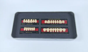 5sets Shofu Endura Full Denture False Tooth Resin Fake Teeth M32 A2 Upper lower