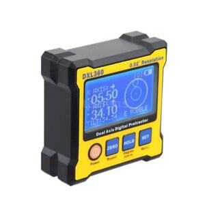 Dxl360 Dual Axis 0 02 Resolution Digital Angle Protractor Inclinometer M0p4