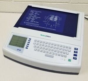 Welch Allyn Model Cp 20 Cp Xx Series Electrocardiograph Console