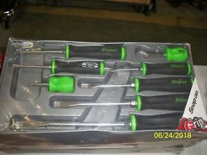 Snap On Screwdriver Set 8 Piece Green And Black