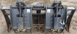 Edge 78 Skid Steer Dual Jaw Root Grapple Attachment