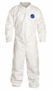 New Dupont Disposable Tyvek Coveralls Sixe 2xl 25 pack Ty125swh2x002500