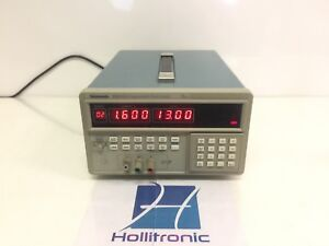 Tektronix Ps2511g Programmable Benchtop 20v 7a Dc Power Supply Single Output