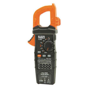 Klein Tools Clamp Meter digital lcd 6000uf trms Cl800