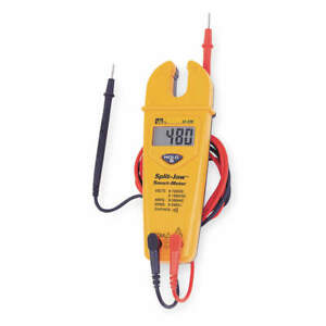 Ideal Split Jaw Clamp Meter 200a lcd 61 096