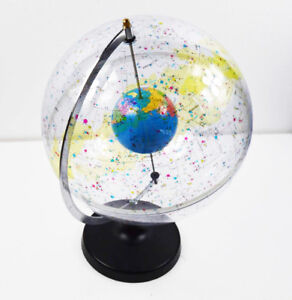 Globe Diameter 12 6 Inch 32cm Antique Desktop World Earth Globe