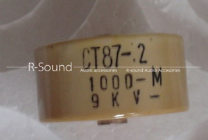 1pc Ct87 2 1000pf 9kv High Voltage Capacitor Ceramic