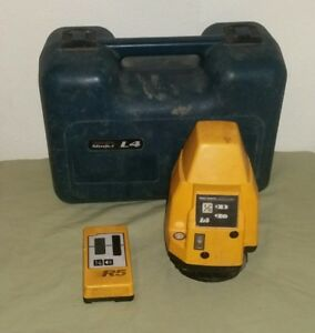 Pro Shot L4 Rotary Self Leveling Laser Level With R5 Working Please Read