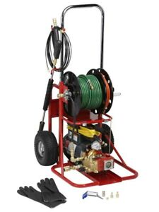 Spartan Tool 717 Electric Mini Sewer Jet Jetter Drain Cleaning Machine 71700000