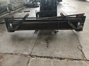 Used Rod Basket With 27 Drill Pipes jt1720