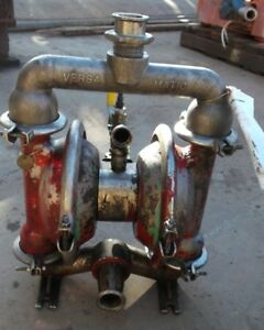 316 Stainless Steel 1 25 Versa matic Diaphragm Pump