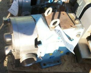 Waukesha Mdl 130 Stainless Steel Positive Displacement Pump