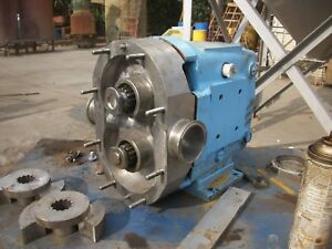 Waukesha Mdl 060 Stainless Steel Positive Displacement Pump