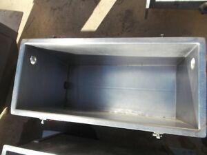 15 Gallon Sanitary Stainless Steel Rectangular Tank