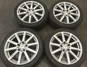Jdm Mugen Racing Nr Wheels Rims Set Honda Acura 5 Lug 17x7 5x114 3