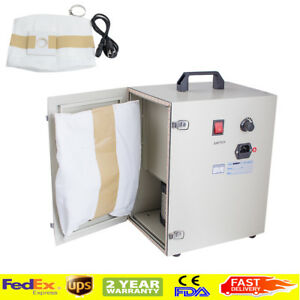 1200w Dental Lab Dust Collector Vacuum Cleaner For Sandblasters 110v Usa Ship