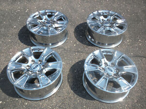 18 Ford F150 Wheels 18 Inches Ford F150 Rims Chrome Original Equipment Oem