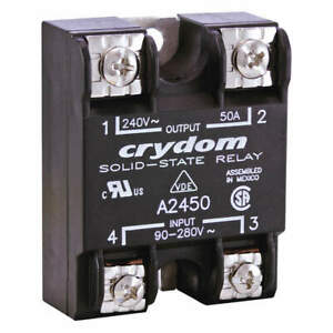 Crydom Solid State Relay in 90 To 280vac 75 A2475