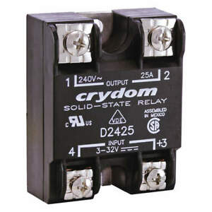 Crydom Solid State Relay in 3 To 32vdc 50 D2450 b