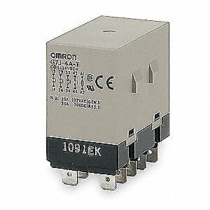 Omron Enclosed Power Relay 10pin 240vac 3pst G7j 3a1b t w1 ac200 240