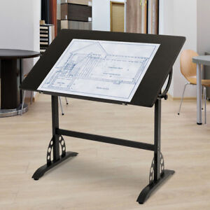 Adjustable Drafting Art Craft Table Furniture Hobby Desk Office Home Station New