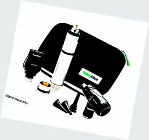 Welch Allyn Standard Diagnostic Set Feat Coaxial Ophthalmoscope Macrovie