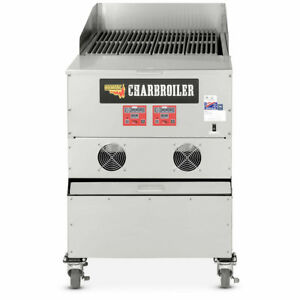 Cookshack Cb024 Commercial Electronically Controlled Pellet fired Charbroiler