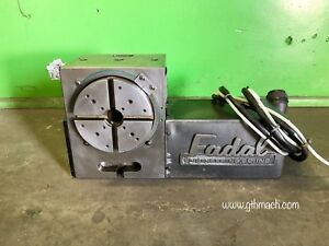 Fadal 4th Axis Rotary Table Dc