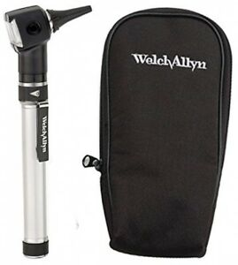 Welch Allyn Otoscope Set With Aa Handle Soft Case And 20 Specula batteries