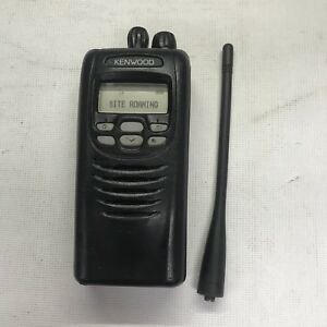 Kenwood Nx 300 k Two Way Radio 450 512mhz W battery Antenna