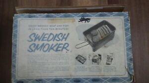 Vintage Abu roken Swedish Smoker Complete Made In Sweden Rare