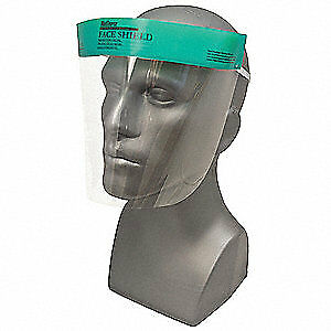 Medsource Face Shield clear polyester pk96 Ms 12100