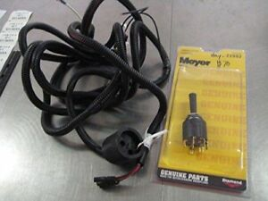 Meyer Snow Plow Slick Stick Wiring And Switch 22092 15680 Free 2 Day Shipping