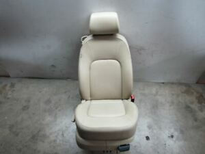 2008 Vw Beetle Convertible Passenger Front Seat Assembly Cream Leather