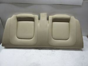 2008 Vw Beetle Convertible Rear Seat Bottom Cushion Cream Leather
