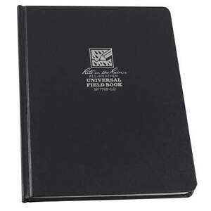 Rite In The Rain Book universal 80 Sheets black Cover 770f lg