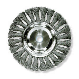 Weiler Twist Wire Wheel Brush arbor 10 In 93836