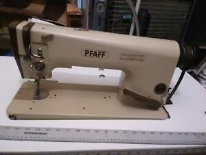 Mechanical Pfaff Commercial Industrial Sewing Machine Sew Leather Or Upholstery
