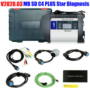 V2019 12 Mb Sd C4 Plus Star Diagnosis Support Doip With Free Dts Monaco